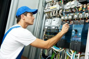 electrical employee
