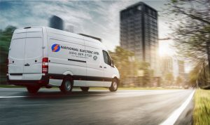 electrical services van